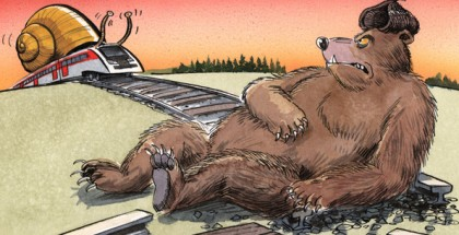 baltic train bear